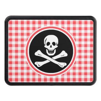 Pirata; Guinga roja y blanca Tapas De Remolque