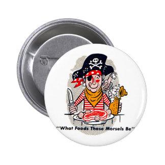 Pirata hambriento del Matchbook del vintage del ki Pins