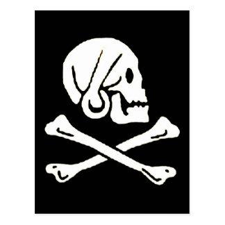 pirata-Henrio-cada Tarjeta Postal