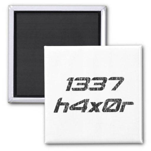 Pirata informático 1337 de ordenador de Leet Haxor Iman