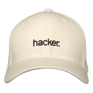 Pirata informático blanco del gorra gorra de béisbol