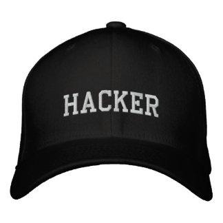 Pirata informático del gorra negro gorras de béisbol bordadas