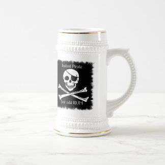 Pirata inmediato jarra de cerveza