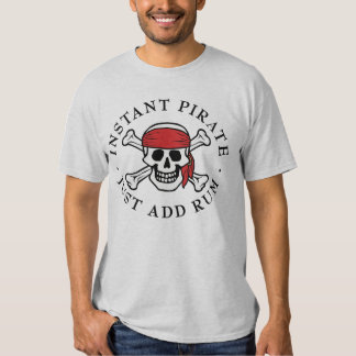 Pirata inmediato playera