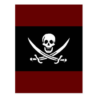 pirata-Jack-rackham Postal