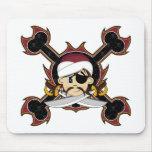 Pirata lindo Mousepad del turbante Alfombrilla De Raton
