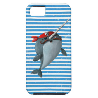 Pirata lindo Narwhal iPhone 5 Case-Mate Funda