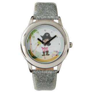 Pirata lindo reloj