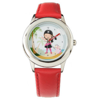 Pirata lindo relojes de mano