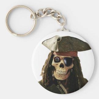 Pirata Llavero Redondo Tipo Pin