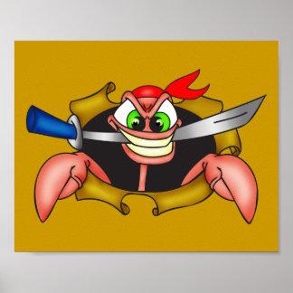 Pirata malhumorado póster