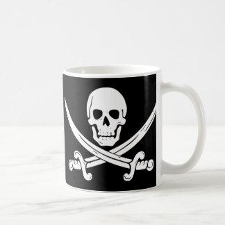 Pirata - muerte antes del Decaf Tazas De Café