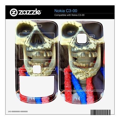 Pirata Nokia C3-00 Calcomanías