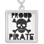Pirata orgulloso collares personalizados