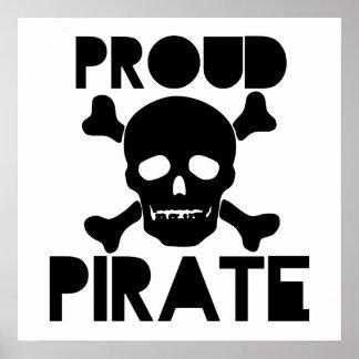 Pirata orgulloso poster