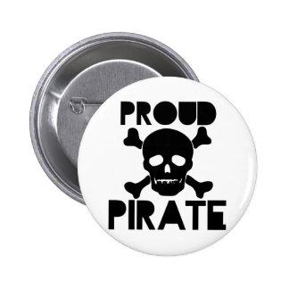Pirata orgulloso pin