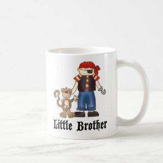 Pirata pequeño Brother Taza