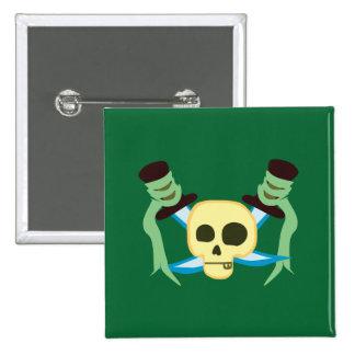 Pirata Pin Cuadrado