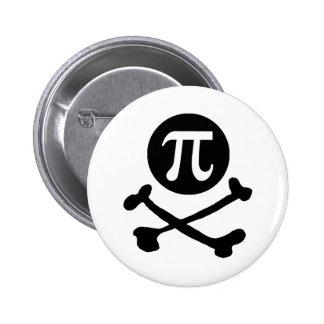 Pirata Pin Redondo De 2 Pulgadas