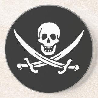 Pirata Posavasos De Arenisca