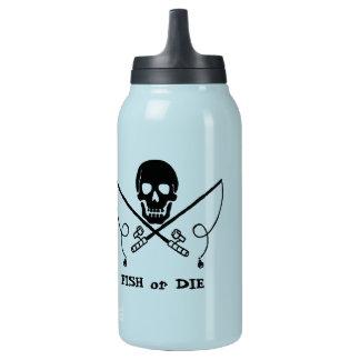 Pirata que pesca la botella terma de SIGG