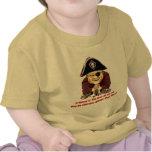 Pirata religioso camiseta