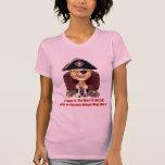 Pirata religioso camisetas
