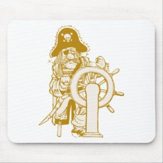 Pirata retro tapetes de ratón