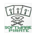 Pirata Rogelio alegre del disco blando de 8 bits d Bloc De Notas
