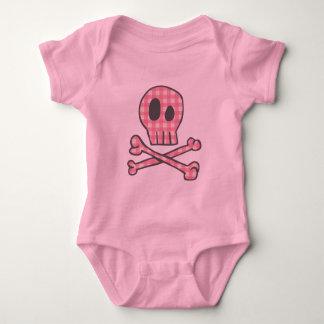 Pirata rosado de la guinga tee shirt
