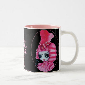 Pirata rosado taza de café