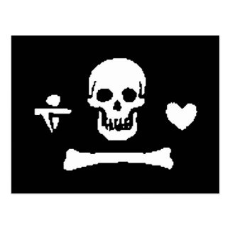 pirata-stede-capo tarjetas postales