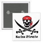 Pirata suizo pin