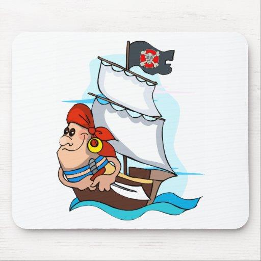 Pirata Tapetes De Ratones