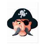 Pirata Tarjeta Postal