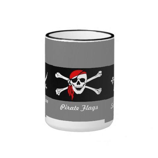 Pirata Taza A Dos Colores