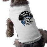 Pirata tuerto ropa perro