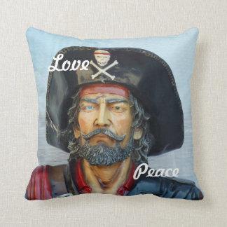 Pirata único del vintage cojin