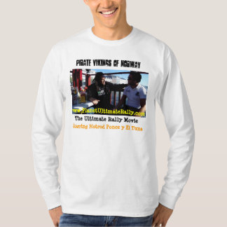 Pirata Vikingos * la última camiseta de la reunión Playeras