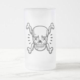 Pirata X-Observado Jarra De Cerveza Esmerilada