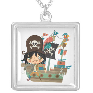 Pirata y barco pirata grimpolas personalizadas