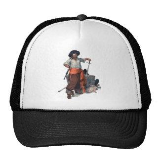 Pirata y tesoro gorra