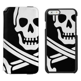 Pirata Funda Cartera Para iPhone 6 Watson