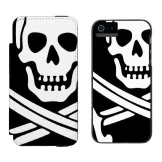 Pirata Funda Cartera Para iPhone 5 Watson
