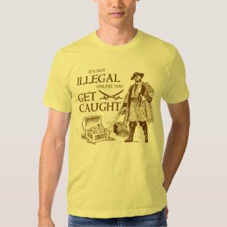 Piratas Camisas