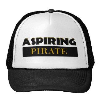 Piratas de aspiración gorra