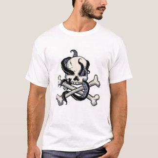 Piratas de la bandera pirata del Caribe Disney Playera