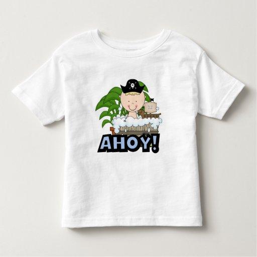Piratas de la bañera - camisetas y regalos rubios playeras