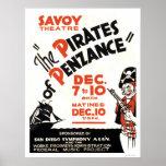 Piratas de Penzance WPA 1938 Impresiones