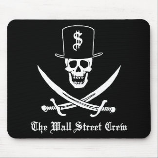 Piratas de Wall Street Alfombrilla De Raton